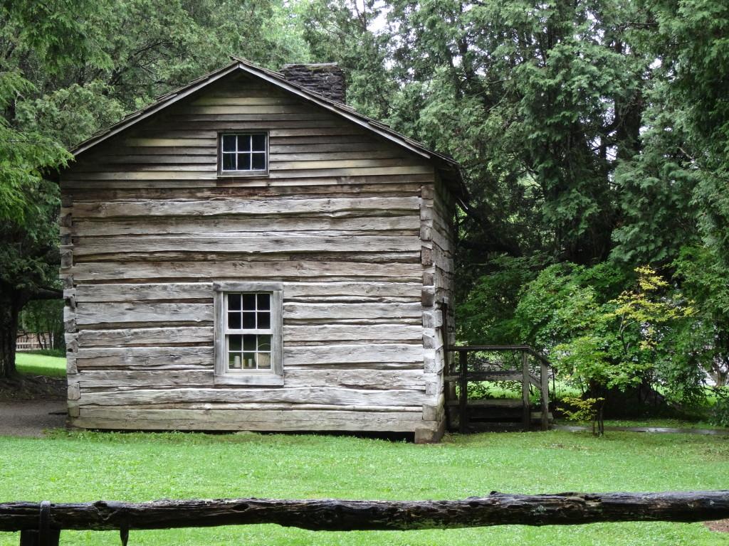 Matthews Cabin, Mabry Mill, Blue Ridge Parkway