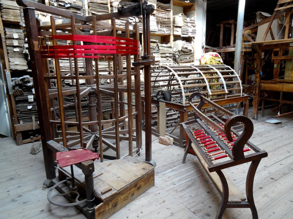 Warping equipment, Bevilacqua, Venice I Western Sakiori