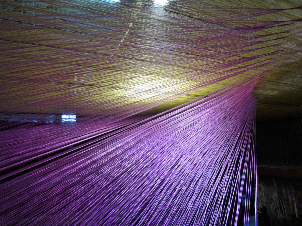 Warp threads, Bevilacqua, Venice I Western Sakiori