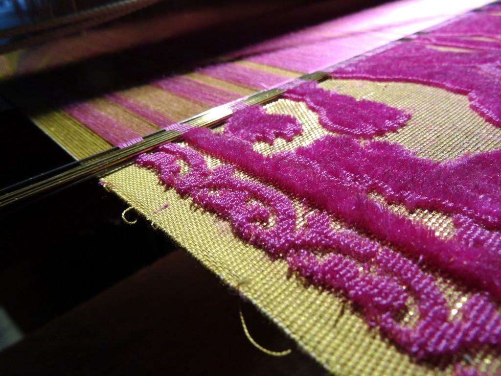 Velvet weaving I Western Sakiori